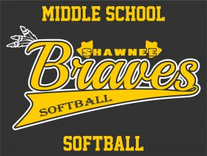Braves Middle School Softball